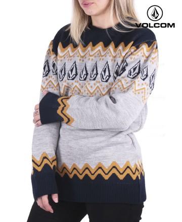 Sweater Volcom Crew Raven
