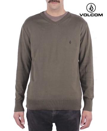 Sweater  Volcom Crew Solid V Neck