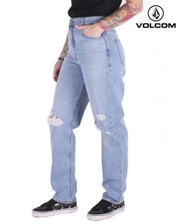 Jean Volcom Mom Vintage Blue