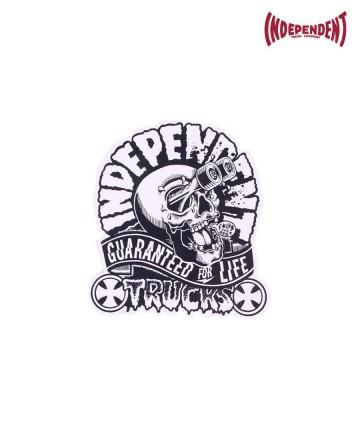 Sticker  Independent Mid Calavera