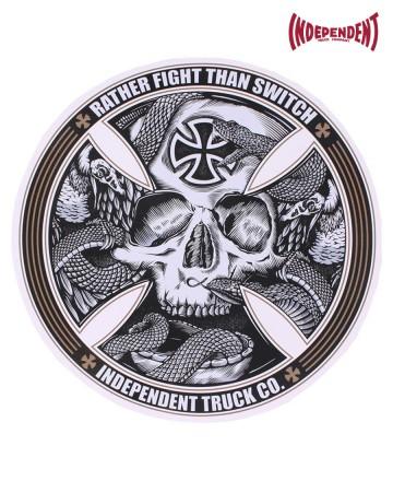 Sticker Independent St Logo Big Fight