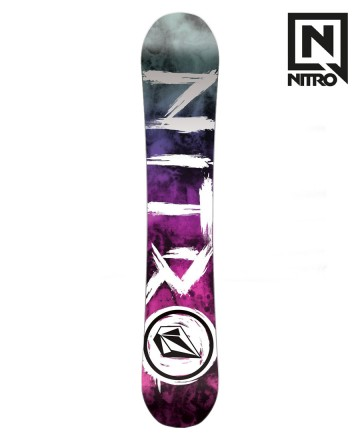 Tabla de snow Nitro Beast x Volcom 158
