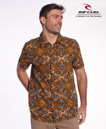 Camisa Rip Curl Reg Bukit