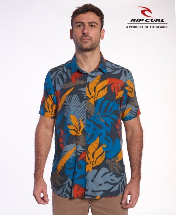 Camisa Rip Curl Reg Busy Session