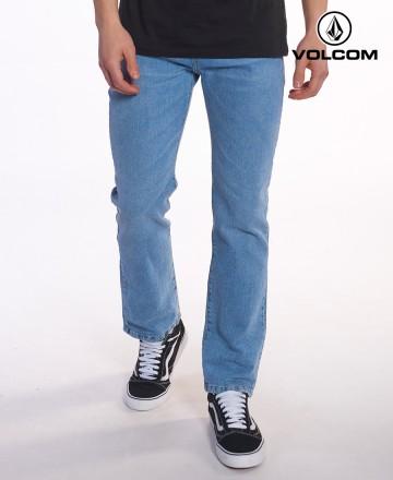 Jean Volcom Solver Vintage Blue