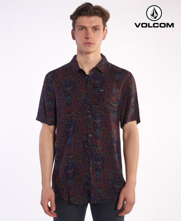 Camisa Volcom Paisely