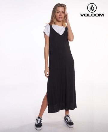 Vestido Volcom Elastic Morley Midi
