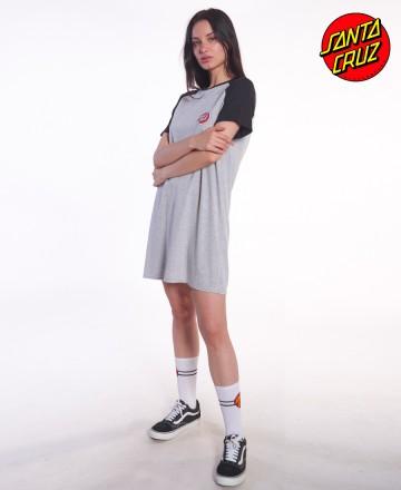 Vestido Santa Cruz Ranglan Football