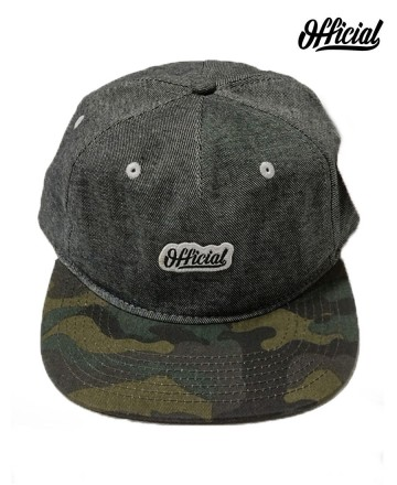 Cap Official Stitch Blk