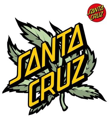 Sticker Santa Cruz Big Slashed