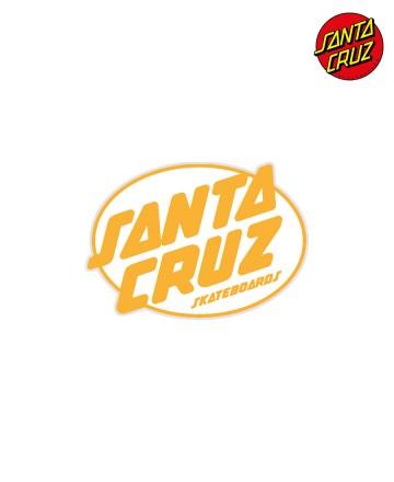 Sticker Santa Cruz Club Oval Dot