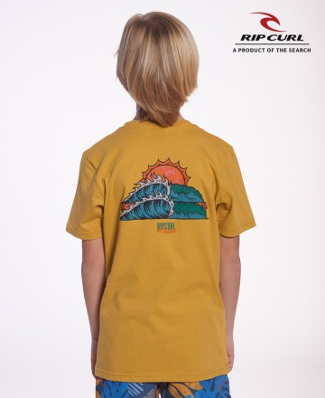 Remera Rip Curl Dyed Lineup