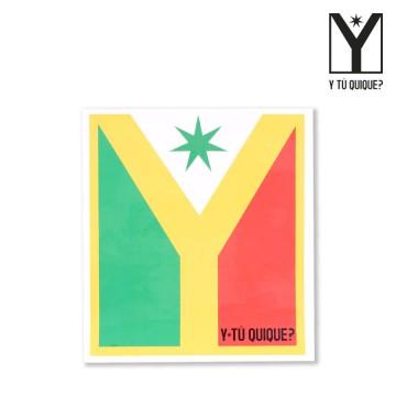 Sticker Y Tú Quique? Logo Big Size