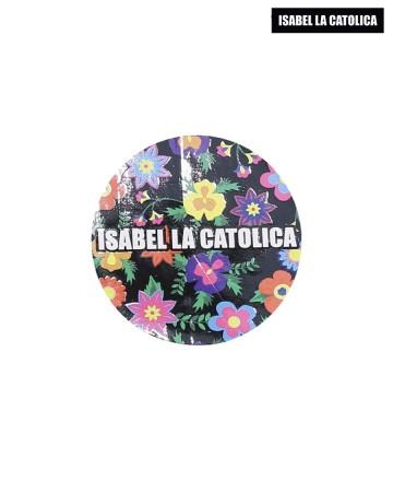 Sticker  Isabel La Católica Flores Black