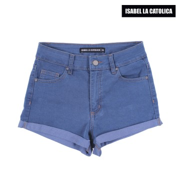 Short  Isabel La Católica Hi Blue