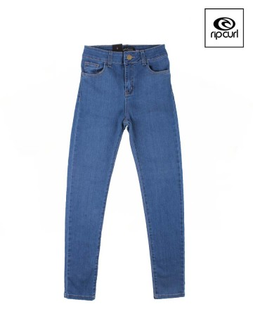 Jean Rip Curl Pins Mid Blue Washed