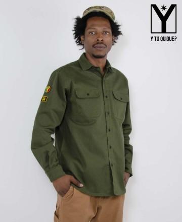 Camisa Y Tú Quique? Militar