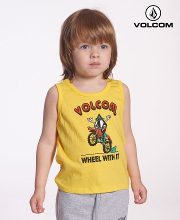 Musculosa Volcom Wheel With it