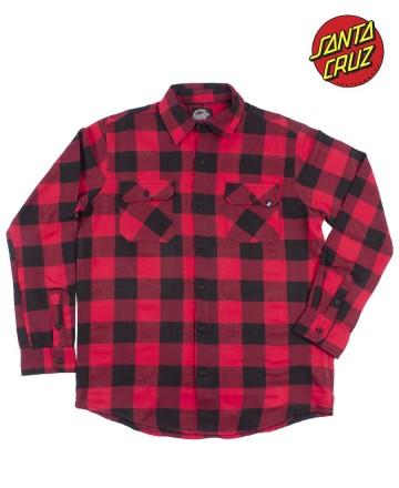 Camisa  Santa Cruz Flannel Leverag