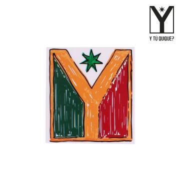 Sticker Y Tú Quique? Logo