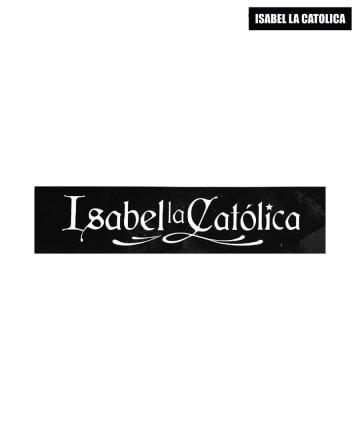 Sticker  Isabel La Católica Logo Rect