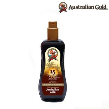 Bronceador  Australian Gold Spray Gel Bronzer FPS 15