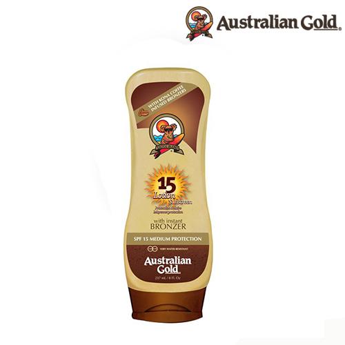 Bronceador  Australian Gold Bronzer FPS 15 Café Kona