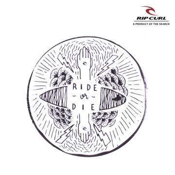 Sticker Rip Curl Mid x4