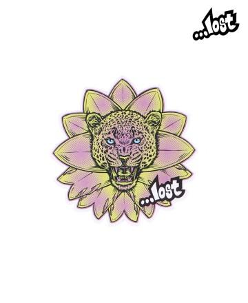 Sticker Lost Mid Leopardo