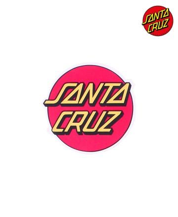 Sticker Santa Cruz Medium Rojo