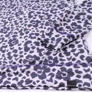Camiseta Térmica Rip Curl Leopardo