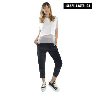 Jogging  Isabel La Católica Velvet Crop