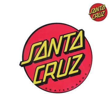 Sticker Santa Cruz Big Size