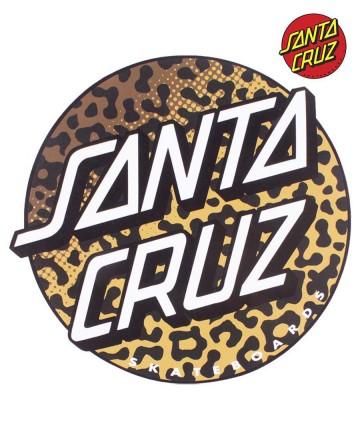 Sticker Santa Cruz Big Animal Print
