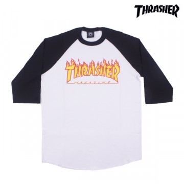 Remera Thrasher 3/4 Print