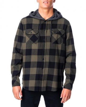 Camisa Rip Curl Hooded Logan Shirt