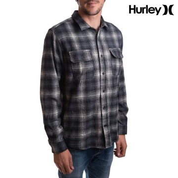 Camisa Hurley Flannel Cortez