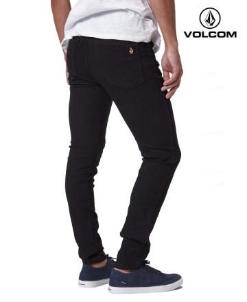 Jean Volcom Skinny Black Stone