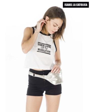 Musculosa Isabel La Católica Ringer