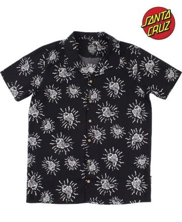 Camisa Santa Cruz Skull Hawaiana