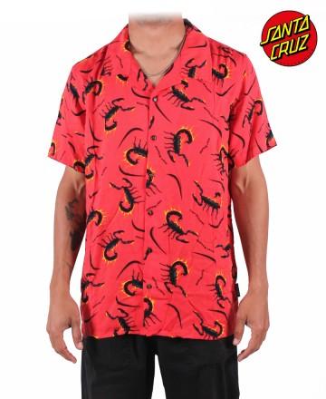 Camisa Santa Cruz Scorpions Hawaiana