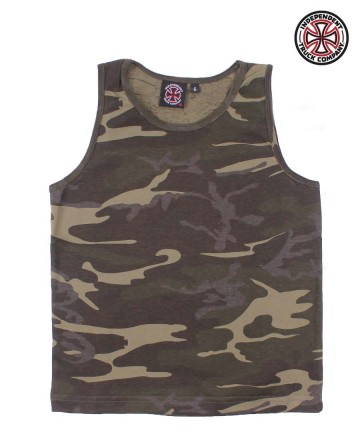 Musculosa Independent Camo