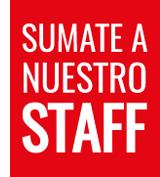 Sumate a nuestro Staff